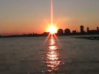 SUNSET HUDSON RIVER NYC, by Steve Dressler on OurStage