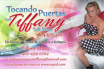 Opening Radio Talk Show Tocando Puertas Con Tiffany, by Bamil on OurStage