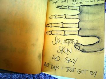 Skeletonskinandsky, by Paper Arrows on OurStage