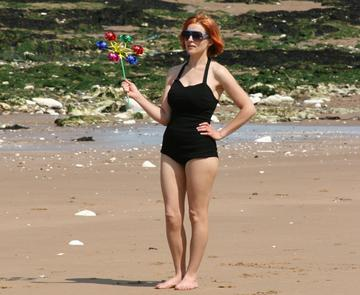 A Day at the Beach, by Heather Andrews on OurStage