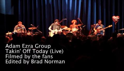 Takin' Off (Live) Filmed by the Fans, by Adam Ezra Group on OurStage