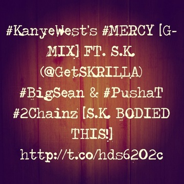 S.K.(@GetSKRILLA)'s [LIVE] REHEARSAL OF #MERCY VERSE, by S.K.(GetSKRILLA) on OurStage