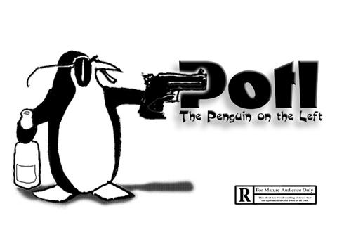 Potl the penguin on the left, by rcguinan on OurStage