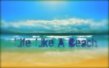 Life Like A Beach, by Dedmondson on OurStage