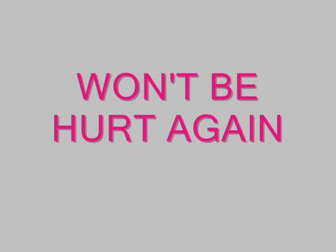 Won't Be Hurt Again, by Steve Dafoe-SongWriter on OurStage