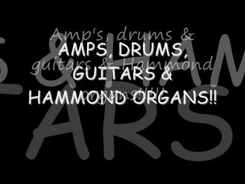 Amps, Drums, Guitars & Hammond Organs, by Norman Peterson on OurStage