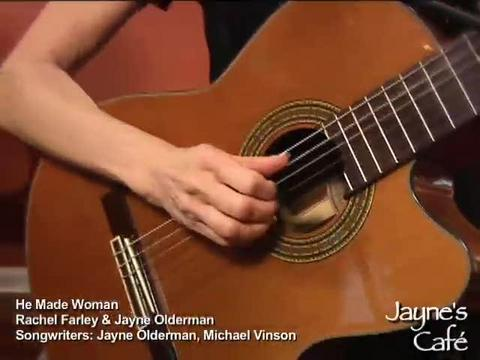He Made Woman, by Rachel Farley Featuring Songwriter - Jayne Olderman on OurStage
