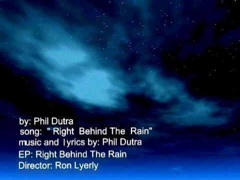 """Right Behind The Rain"" Promo Video, by Phil Dutra on OurStage"