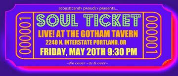 SOUL TICKET, by SOUL TICKET on OurStage