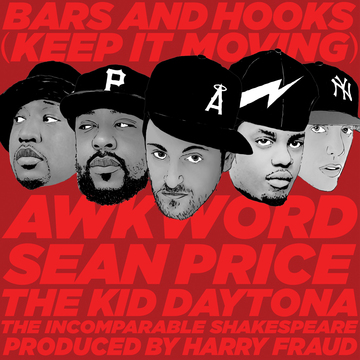 Bars & Hooks (ft. Sean Price, The Kid Daytona; pr. Harry Fraud), by AWKWORD on OurStage