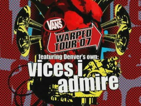 Vices I Admire - Warped Tour 2007 Promo - Monster, by Vices I Admire on OurStage