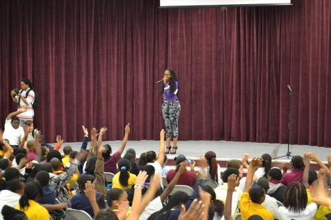 Stichiz Performs At Stay In School Tour, by Stichiz on OurStage
