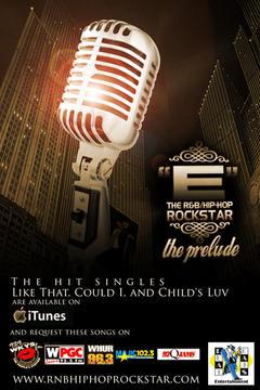 """""""E"""" The R&B Hip-Hop Rockstar 'Back 2 U' (Unofficial Video Release), by """"E"""" The R&B Hip-Hop Rockstar on OurStage"""