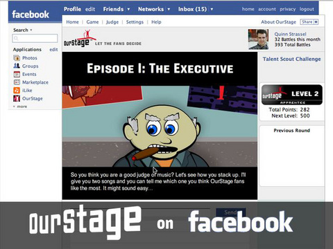 OurStage is officially on facebook!, by ThangMaker on OurStage