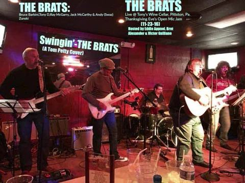 Swingin'-THE BRATS (A Tom Petty Cover) THE BRATS Live @ Tony's Wine Cellar, by THE BRATS on OurStage
