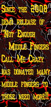 Middle Fingers, by Call Me Crazy on OurStage