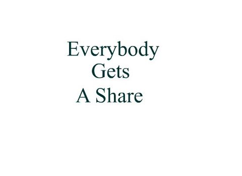Everybody Gets A Share, by glgust on OurStage