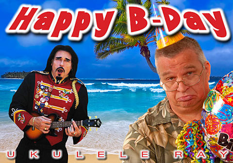 Happy B-Day, by Ukulele Ray on OurStage